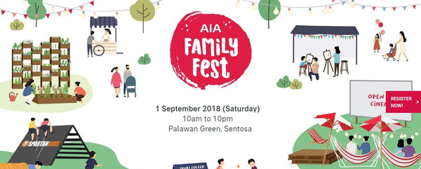 Party with Your Little Ones at the AIA Family Fest!
