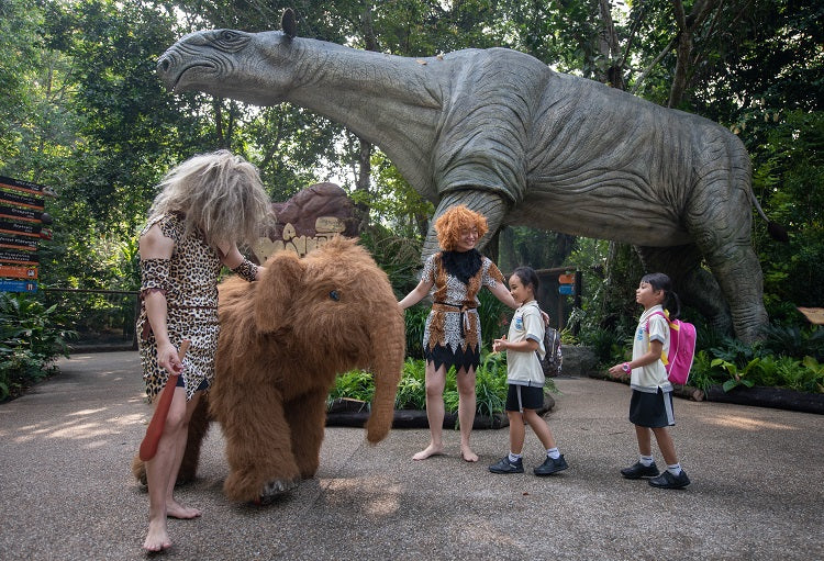Year-End Holidays 2019 - Singapore Zoo A Mammoth Adventure Back in Time
