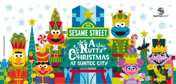 Things to do: A Nutty Christmas with Sesame Street at Suntec City