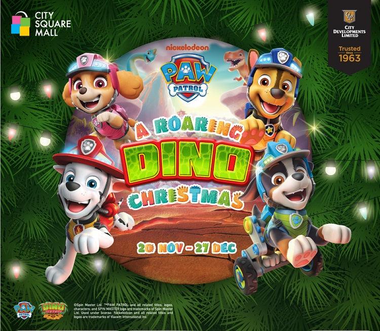 A Roaring Dino Christmas With PAW Patrol®