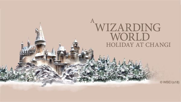 A Wizarding World Holiday at Changi—Casting spells, playing Quidditch, window shopping at Zonko's Joke Shop, & More!