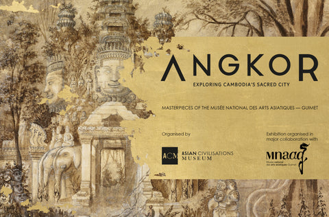 Angkor: Exploring Cambodia's Sacred City. Masterpieces of the Musee national des arts asiatiques-Guimet