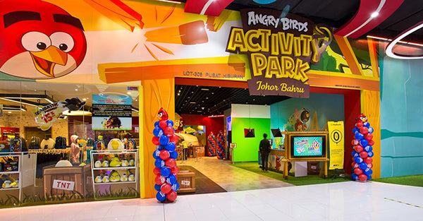 Angry Birds Activity Park JB: An Exciting Weekend with Wingless Birds