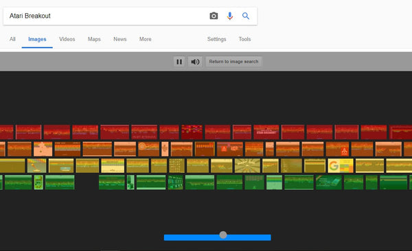7 Google Search Games to Amuse Your Little Ones - Atari Breakout