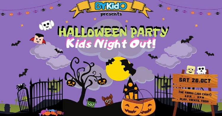 Kids-friendly Halloween Events - BYKidO Halloween Party: Kids Night Out