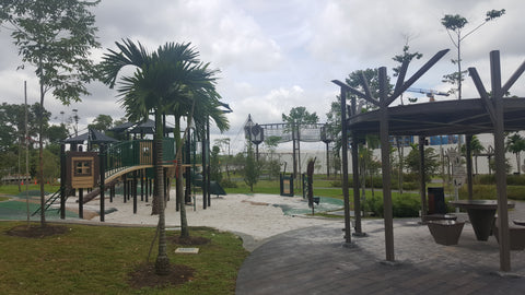 High Element Playground @ Tampines Green Forest Park