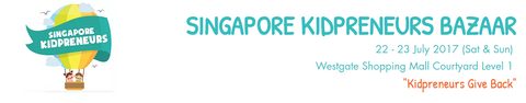 The Singapore Kidpreneur Bazaar