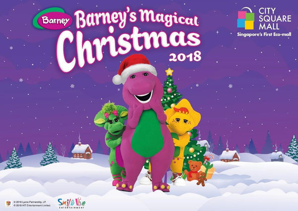 Barney's Magical Christmas at City Square Mall
