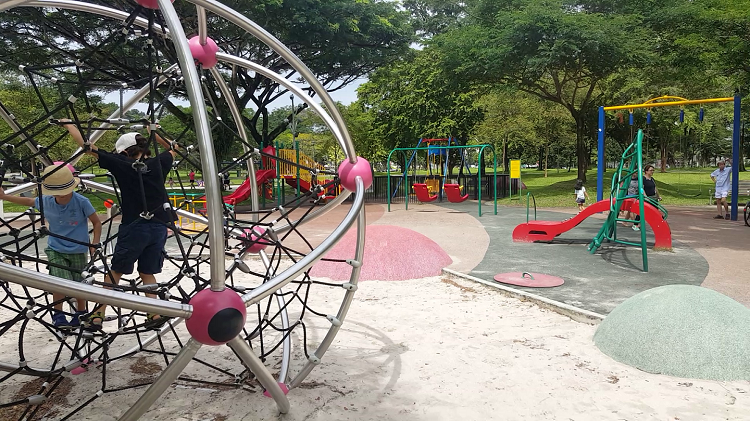 Inclusive Playgrounds in Singapore - Bishan-Ang Mo Kio Park