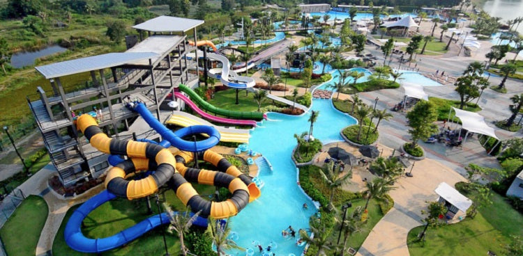 Black Mountain Water Park - Thailand