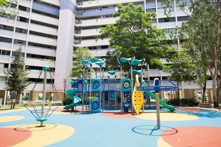 Free Outdoor Playgrounds in the North - Yishun Blk 120