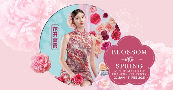 Chinese New Year celebrations at the malls of Frasers Property