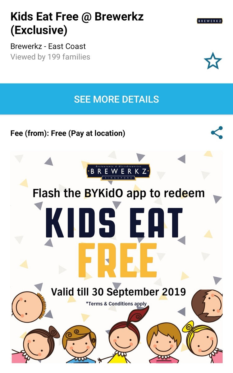 4 Kids-friendly Food Promos You Need to Check Out Now on the BYKidO App - Brewerkz