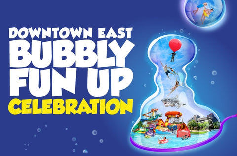 Things to do this Weekend: Bubbly Fun Up Celebration!