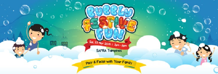 Bubbly Festive Fun | SAFRA Tampines