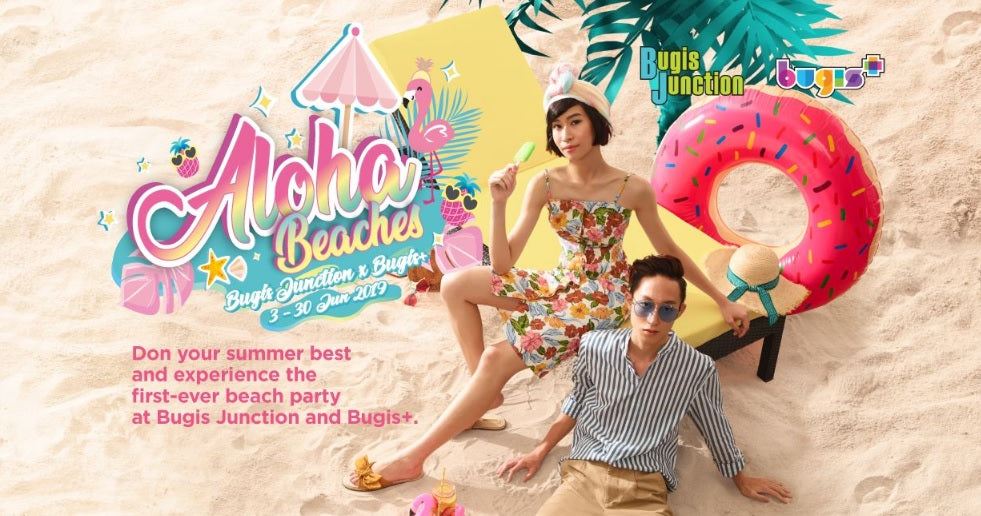 Revel in The Summer Vibes at Aloha Beaches!