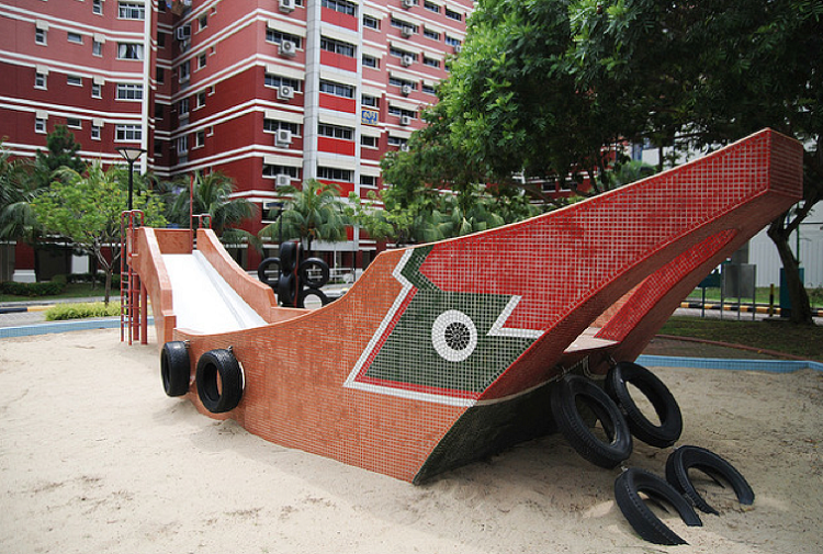 Free Outdoor Playgrounds in the East - Bumboat Playground