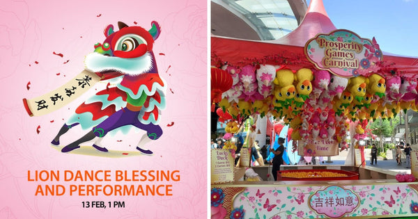 Make Merry with Your Little Ones this CNY at CapitaLand Malls!
