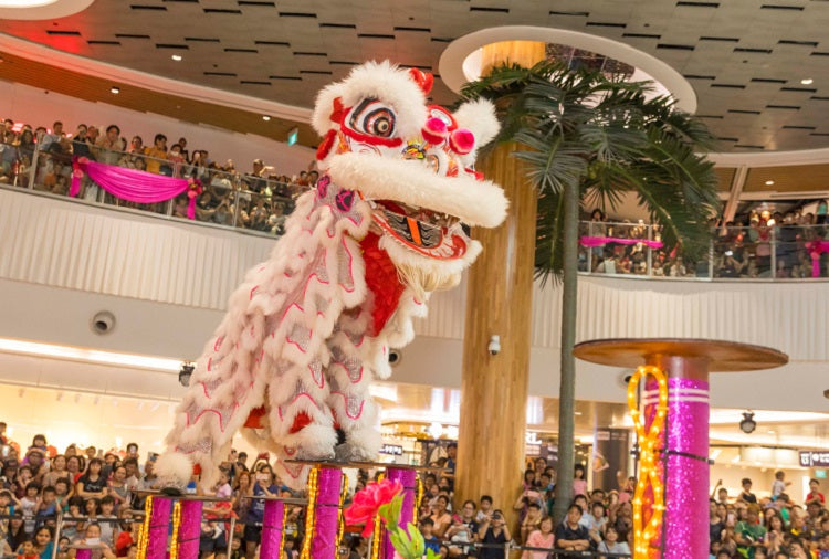Chinese New Year Celebrations at Frasers Malls