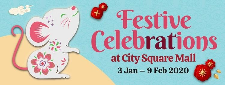 Festive Chinese New Year Celebrations at City Square Mall