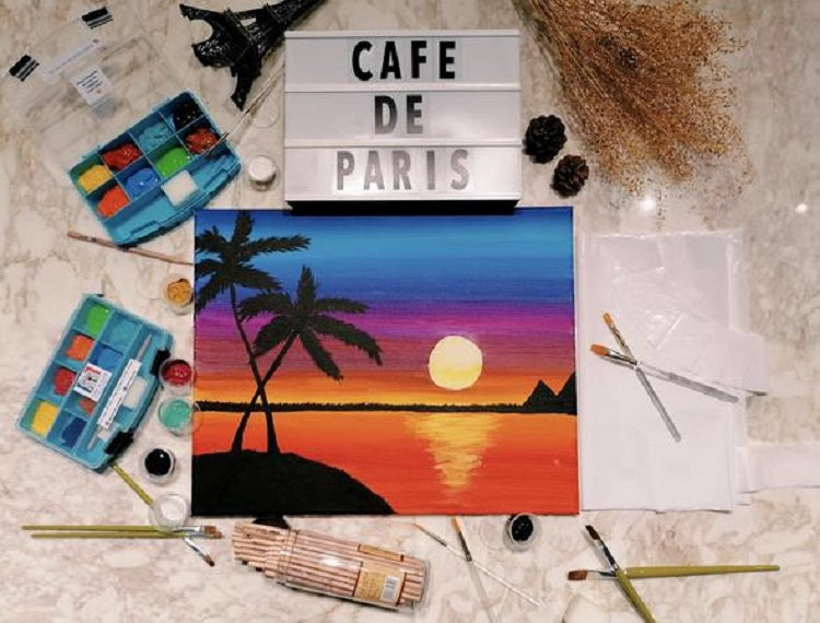 Art Jamming Sets by Cafe de Paris