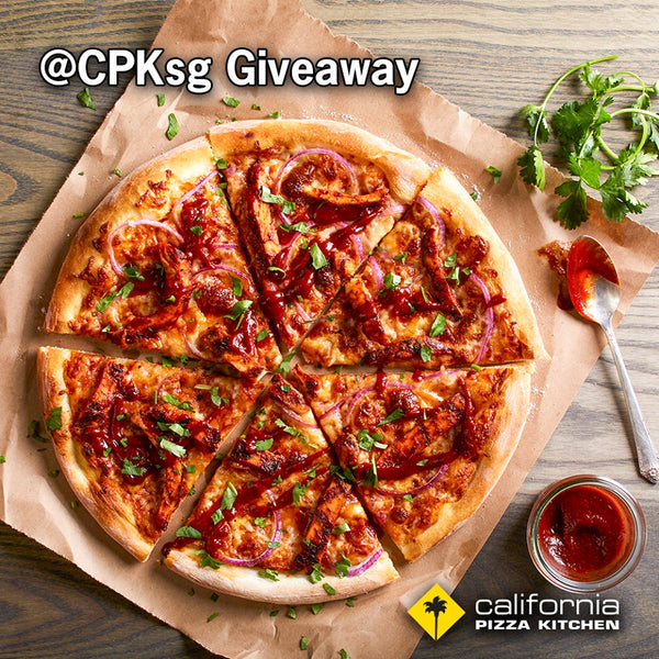 California Pizza Kitchen SG Giveaway