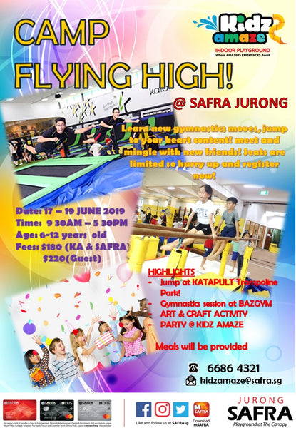 Camp Flying High - Kidz Amaze