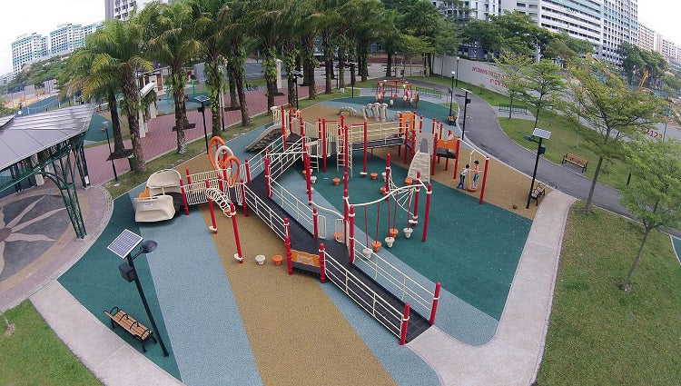 Inclusive Playgrounds in Singapore - Canberra Park