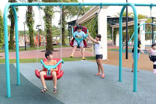 Have a Swings Fiesta at Canberra Park Playground