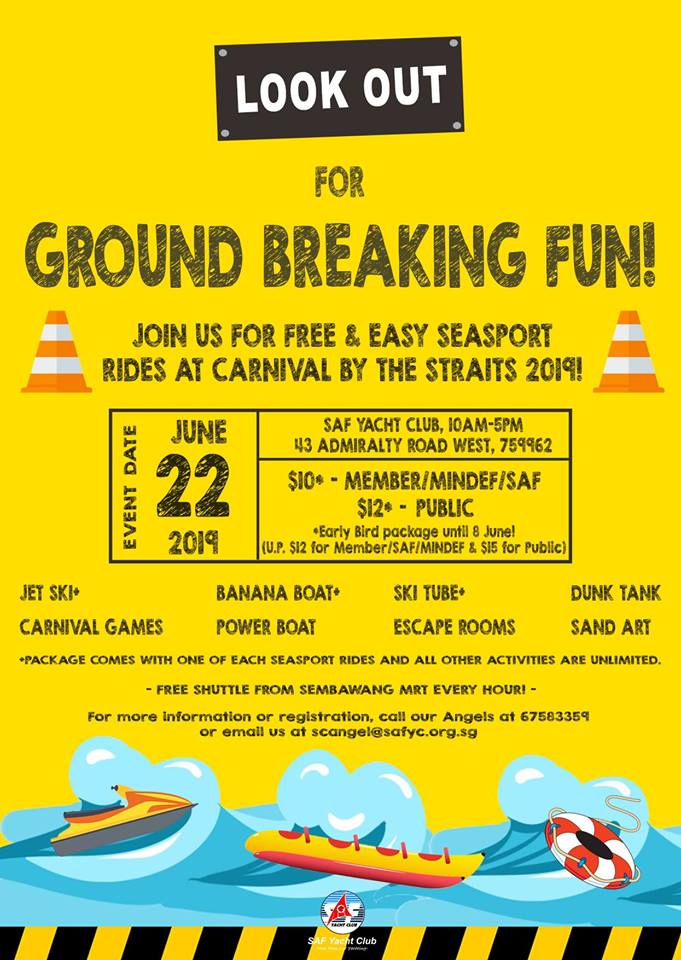 Make Merry with Your Little Ones at The Carnival by The Straits!