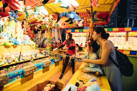 Things to do this Weekend: Head Down to Prudential Marina Bay Carnival with your Little Ones! - games