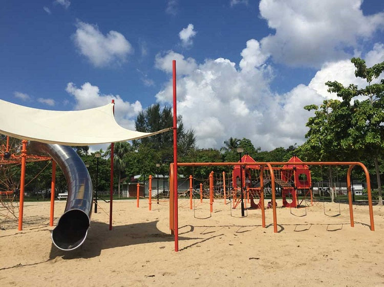 Free Outdoor Playgrounds in the East - Changi Beach Park Playground