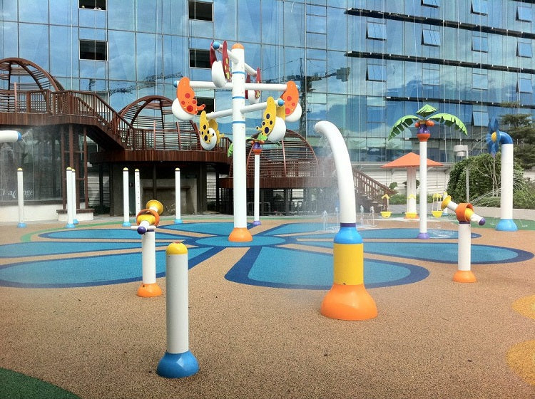 Free Outdoor Playgrounds in the East - Changi City Point Playground