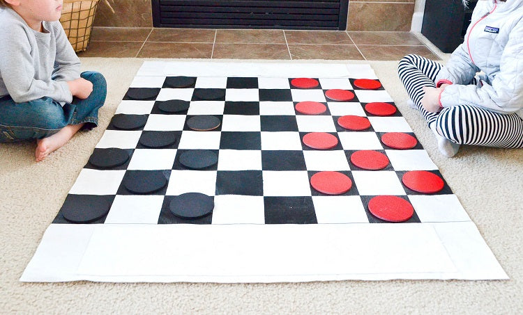 Board Games You can Make at Home - Checkers