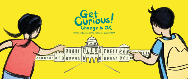 Children's Season at the National Museum 2020: Get Curious – Change is OK!