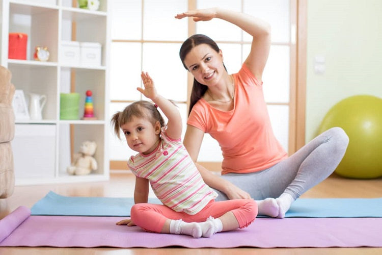 Your Ultimate Guide to Enjoying a Family Homecation Part 2 - Exercise with kids