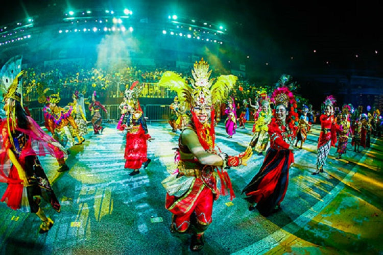 Festivals in Jan 2020 - Chingay Parade