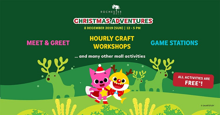 Year-End Holidays 2019 - Christmas Adventures at Rochester Mall