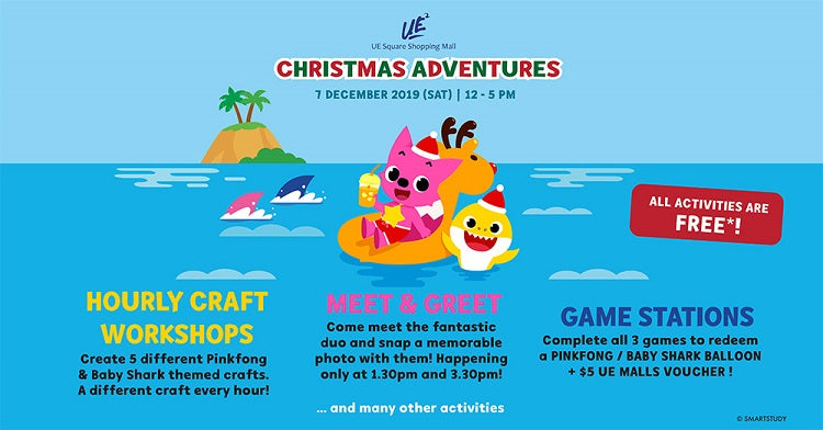 Year-End Holidays 2019 - Christmas Adventures at UE Square