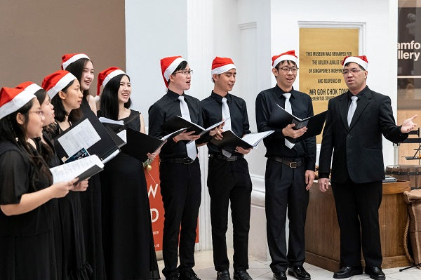 Christmas Celebrations 2020 at National Museum of Singapore