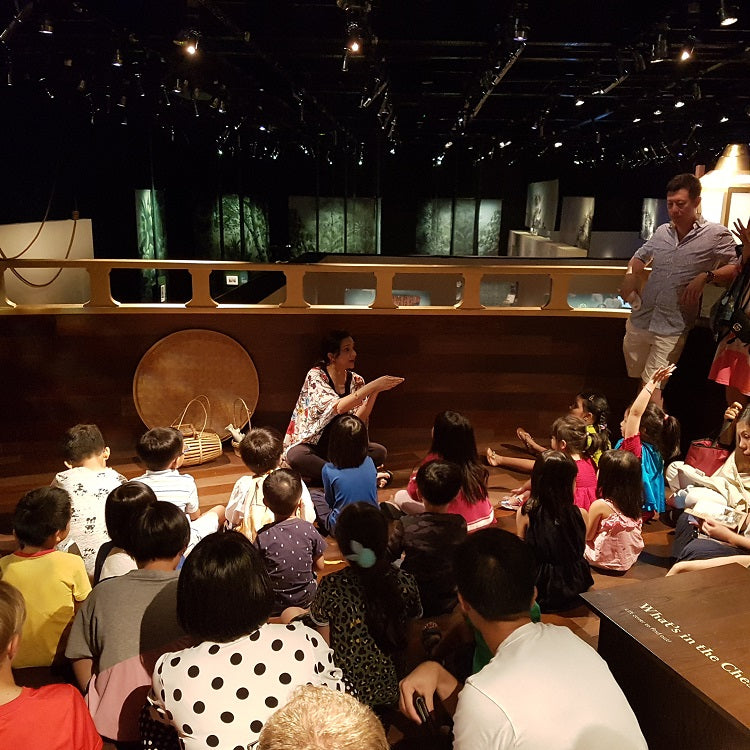 Christmas Celebrations at The National Museum of Singapore