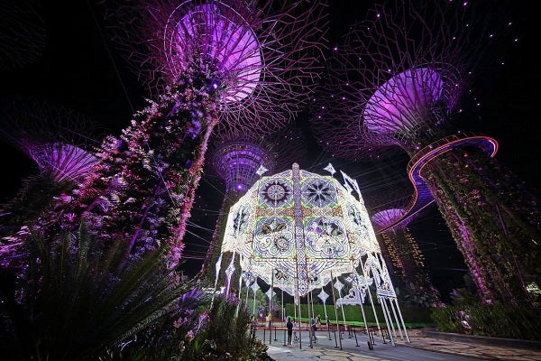 Christmas Wonderland 2020 at Gardens by the Bay
