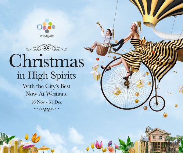 Join in the High-Spirited Christmas Celebrations at Westgate with Your Little Ones!