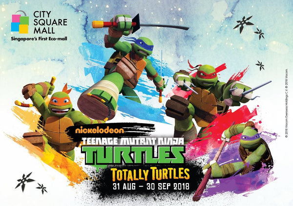 Catch Teenage Mutant Ninja Turtles in Action at City Square Mall!