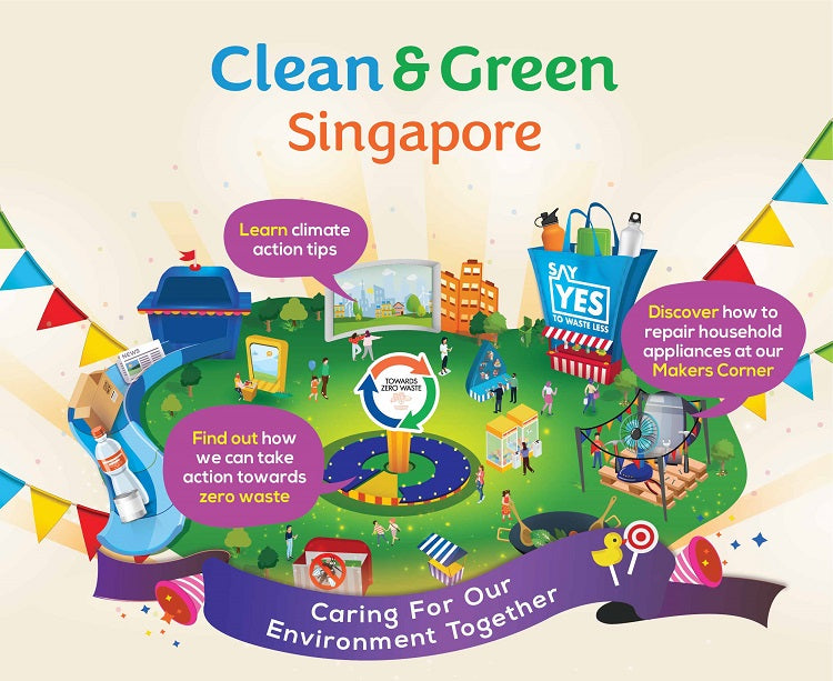 Join in The Clean & Green Carnival with Your Tots!