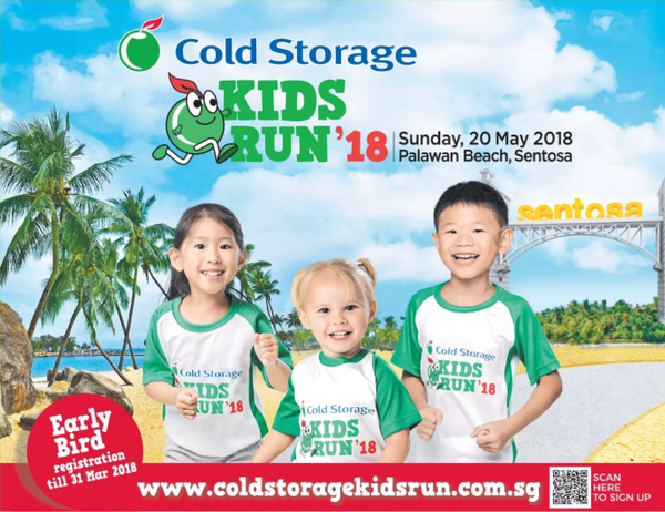 Things to do this Weekend: 2 Kids Runs @ Sentosa Not to Be Missed! - Cold Storage Kids Run