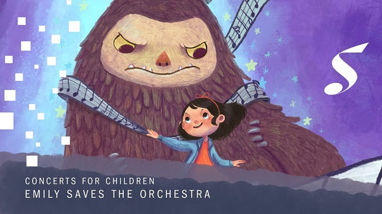 Year-End Holidays 2019 - Concerts for Children: Emily Saves the Orchestra