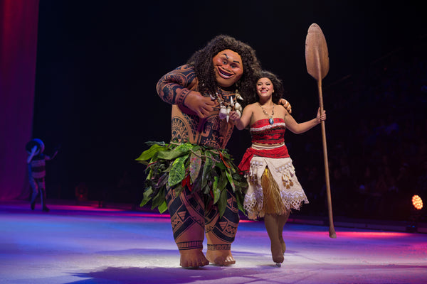 Interview with Moana (Marie) | Disney on Ice