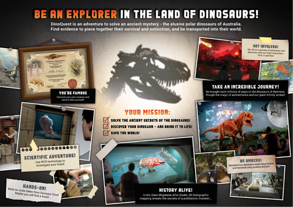 DinoQuest – Science Centre Singapore