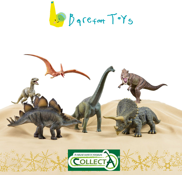 Dinosaurs Set from Barefoot Toys